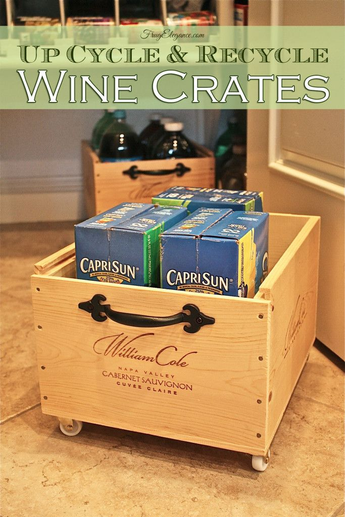 Wooden Wine Boxes & Wine Crates: 7 Wine Crate Furniture Ideas!
