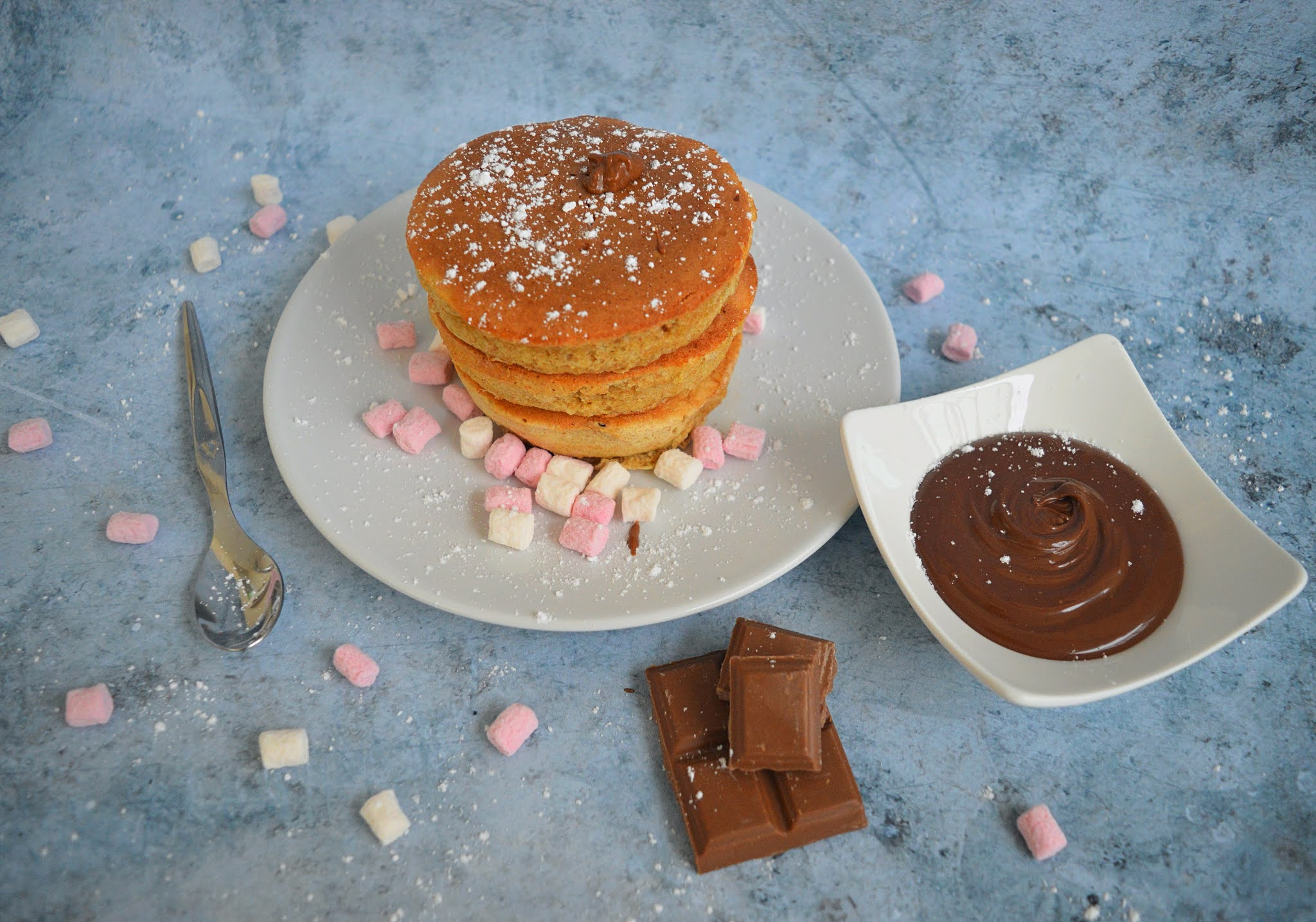 Final fluffy pancakes