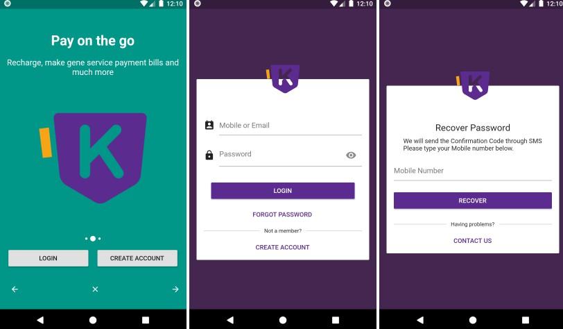 A flutter app cloning Khalti Apps UI interactions - Flutter