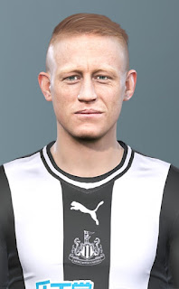 PES 2020 Faces Matthew Longstaff by Champions1989