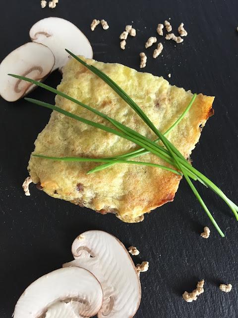 Kartoffel-Pilz-Auflauf, Rezept glutenfrei & vegan, Bio, Minimalismus: Zubereitung einfach + schnell, Healthy Food Style, Sunflower Family