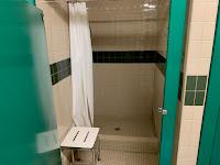 shower at KOA - Will Rogers Downs