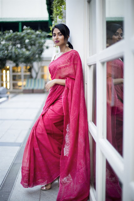 Amala Paul Hot In Pink Saree Latest Photos, Images
