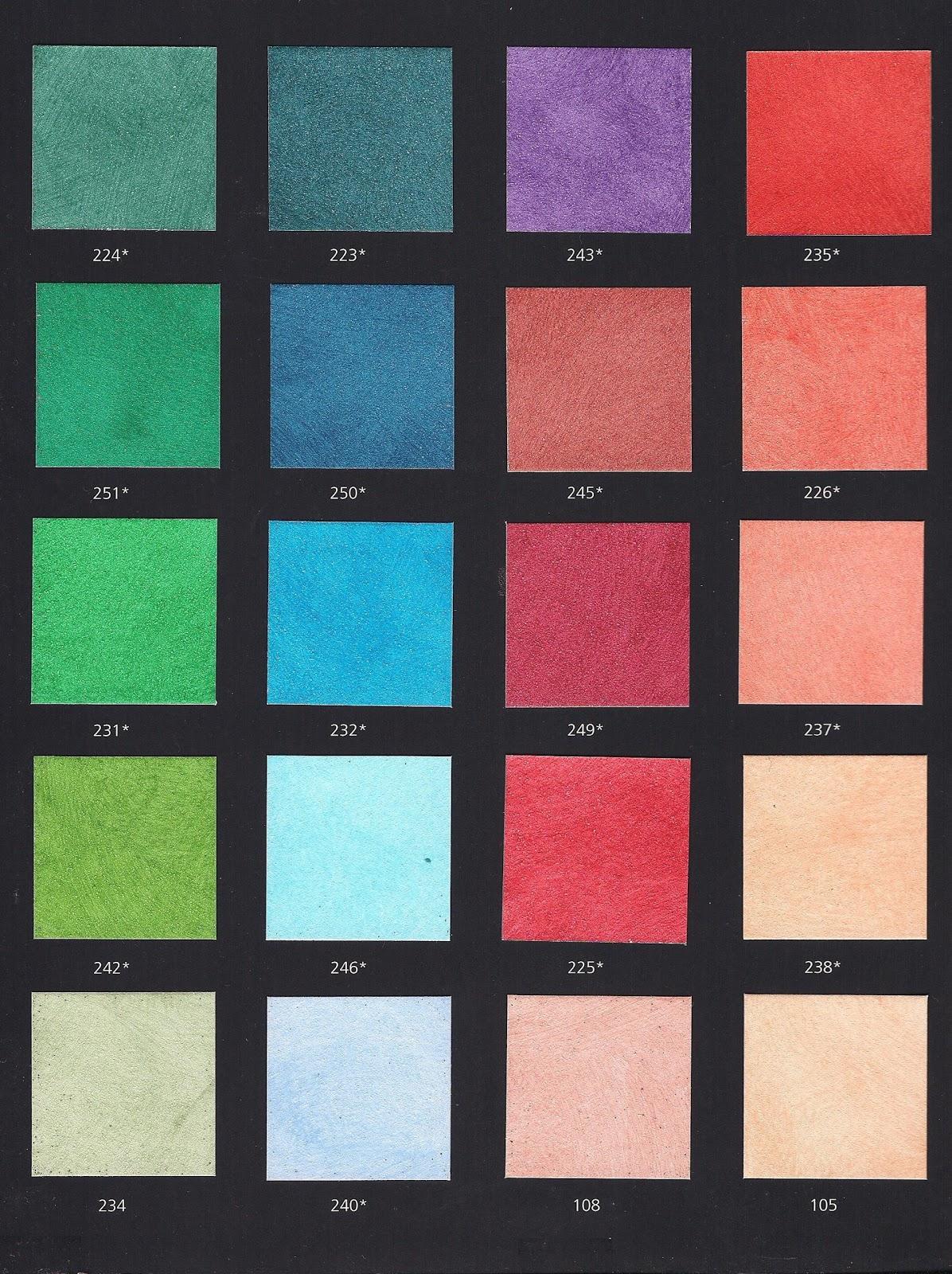 PittureDecorazioni Cartelle Colori