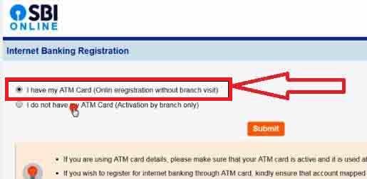 SBI Net Banking online