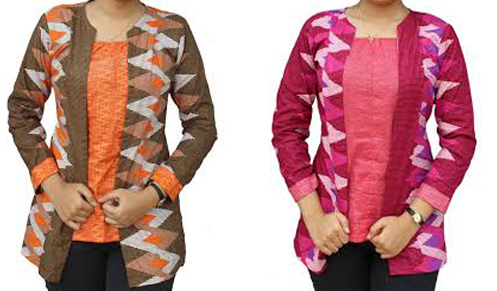 model baju dari kain rangrang