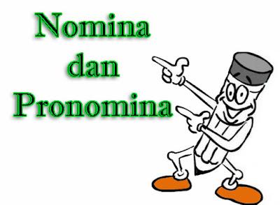 Permalink ke Pengertian Nomina dan Pronomina Beserta Contohnya