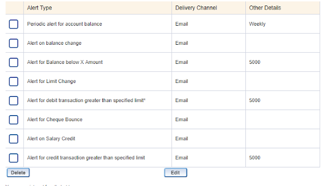 LittleSavings - How to disable HDFC Instalerts