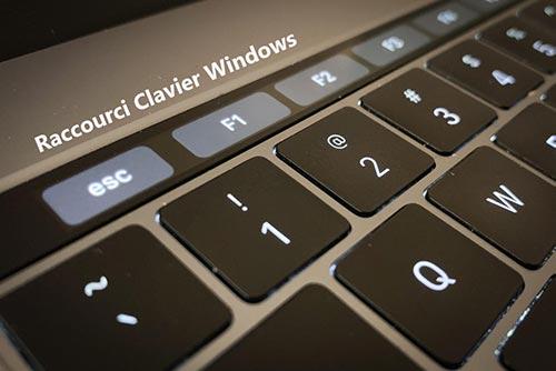 Une sélection des raccourcis clavier sur Windows