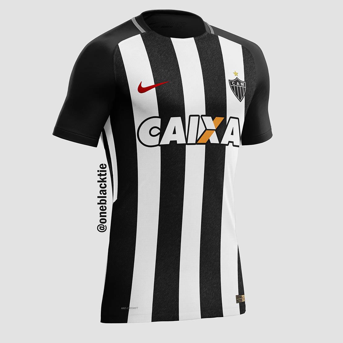 fe5dc4c4412df Designer cria camisas de clubes brasileiros inspiradas na Nike - Parte 01