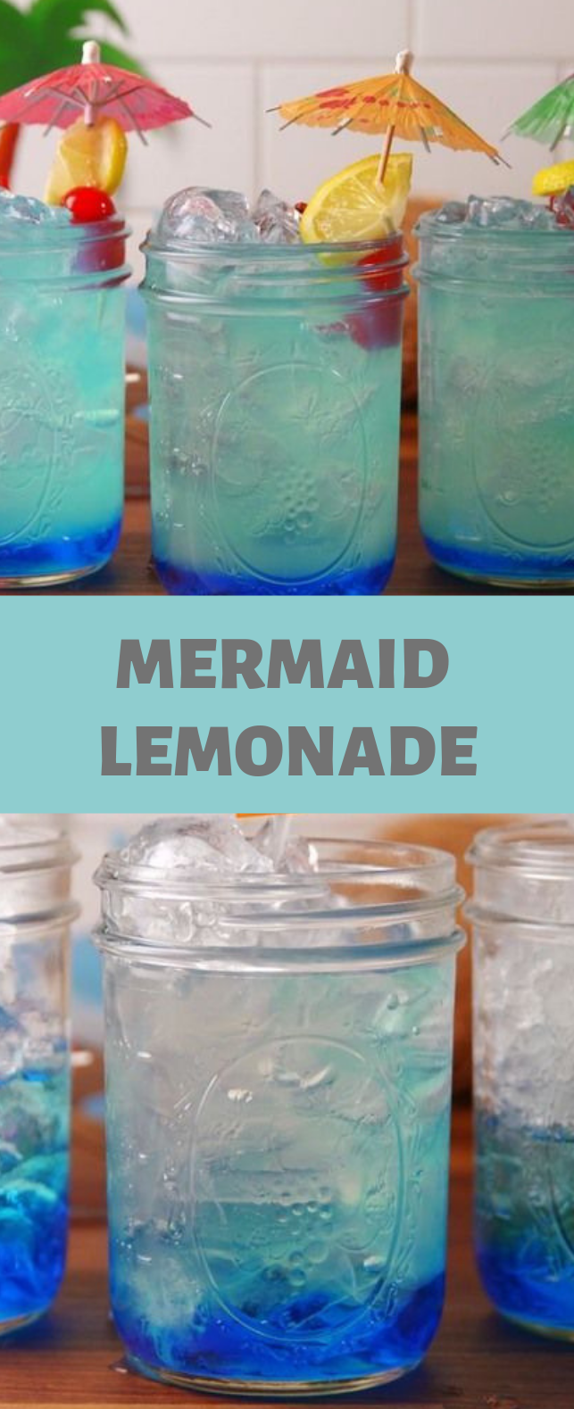 Mermaid Lemonade #lemonade #drink