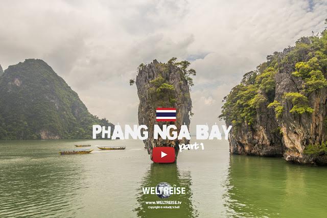 James Bond Island   Phan Nga Bay   Thailand   TEIL 1   www.WELTREISE.tv # 208