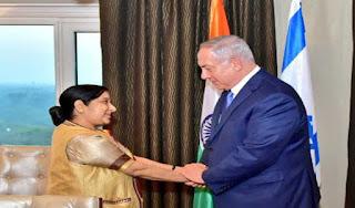 sushma-swaraj-calls-on-israel-pm-discusses-strategic-partnership