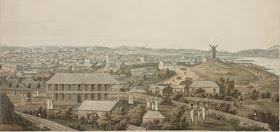 Military hospital, Sydney c.1821. (SLNSW V1/ca1821/5)
