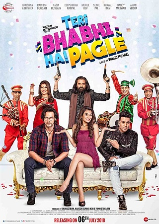 Teri Bhabhi Hai Pagle 2018 Hindi 350MB pDVDRip 480p