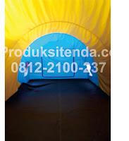 harga tenda dome lorong