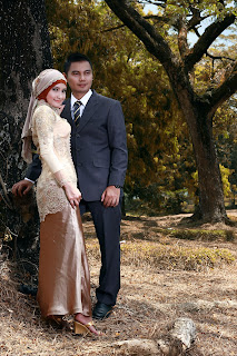 Epi Friesta Dewi Hasibuan & Arisandy Joan Hardiputra : Pre-wedding Kebaya Hijab & Jas Formal