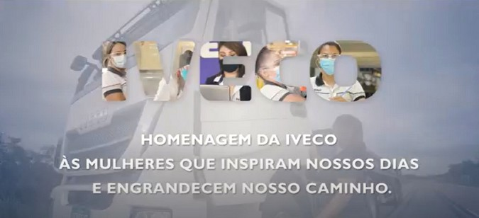 IVECO homenageia as mulheres