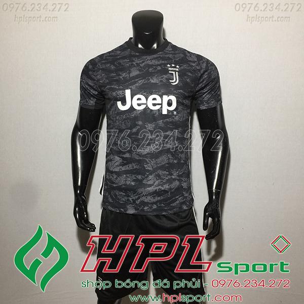 Áo câu lạc bộ Juventus màu đen 2020