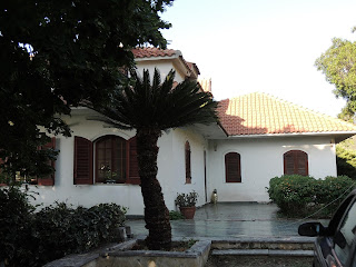 villa in collina a San Saba