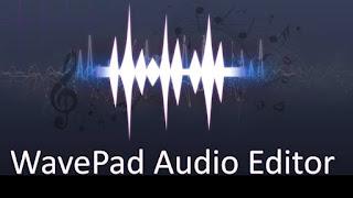 aplikasi pemotong lagu wavepad free audio editor