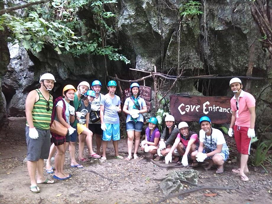 Ugong Rock cave entrance