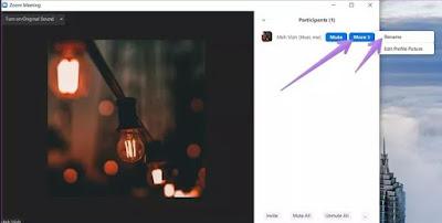 Cara Mengubah Nama dan Foto Profil Zoom Meeting