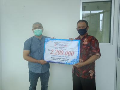 RM Pindang Sehat Sisihkan Seribu Rupiah Per Porsi untuk Bantu Korban Gempa Sulawesi Barat