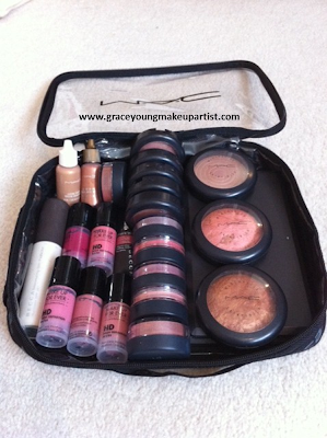 grace young: My freelance makeup kit (MAC Zuca traincase)