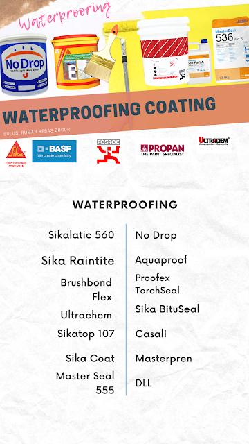 Aplikator Waterproofing dan perbaikan beton bocor terbaik