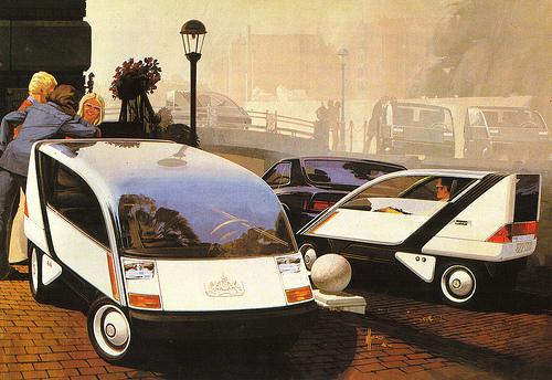 Art Contrarian: Syd Mead: Famous Designer of Unbuilt Cars