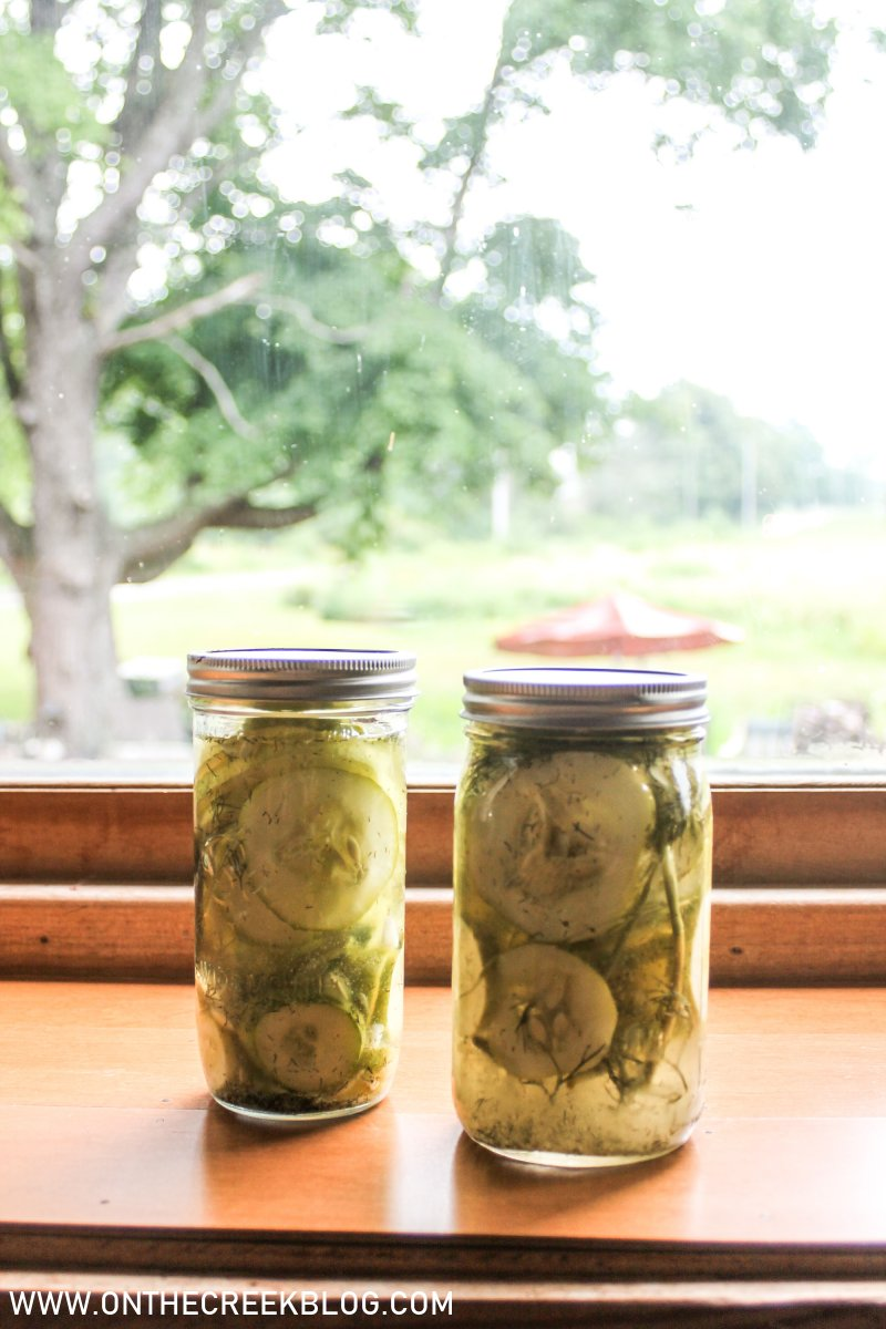 Making & Canning Pickles | On The Creek Blog