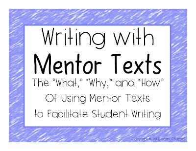 literary essay mentor texts
