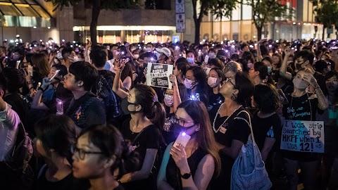 """Donald Trump """"emberséges"""" fellépésre kéri Kínát Hongkongban"""