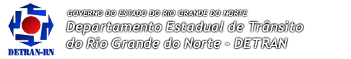 Site do DETRAN Rio Grande do Norte