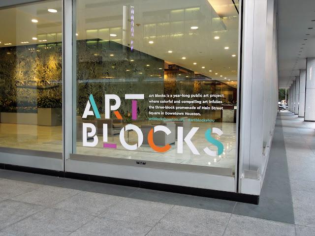 ART BLOCKS IN DOWNTOWN HOUSTON - Public Art Initiative