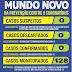 Prefeitura de Mundo Novo divulga mais um boletim Covid-19