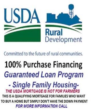 KY USDA Rural Housing program.