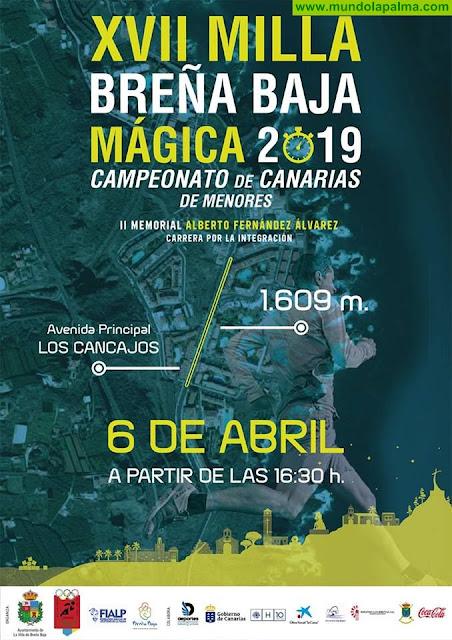 """Abierta Inscripciones para la XVII MILLA URBANA """"Breña Baja Mágica 2019"""""""