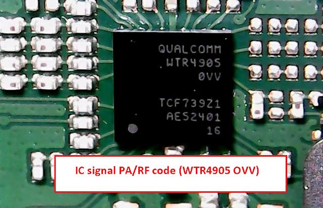 IC signal PA/RF code (WTR4905 OVV) for Xiaomi Mi 4i