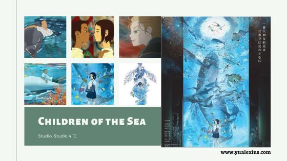 Children of the Sea Anime Movie 2019