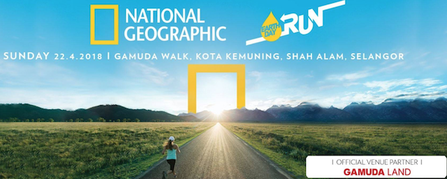 National Geographic Earth Day Run 2018 Listing