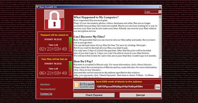 Apa itu Ransomware WannaCry? dan Cara Mencegahnya