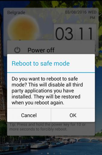 Cara Boot Android Ke Mode Aman,Ini Caranya 4
