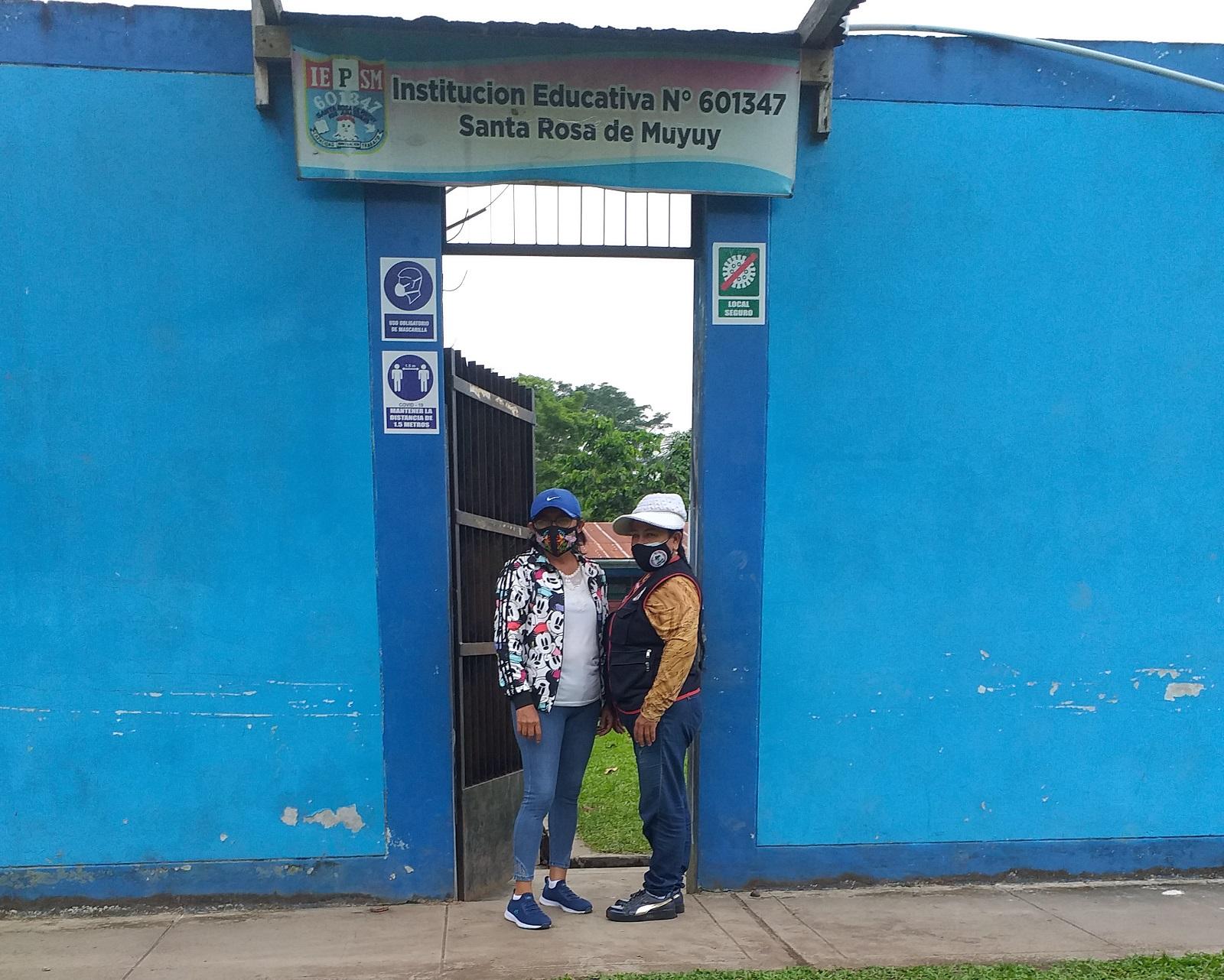 Escuela 601347 - Santa Rosa de Muyuy