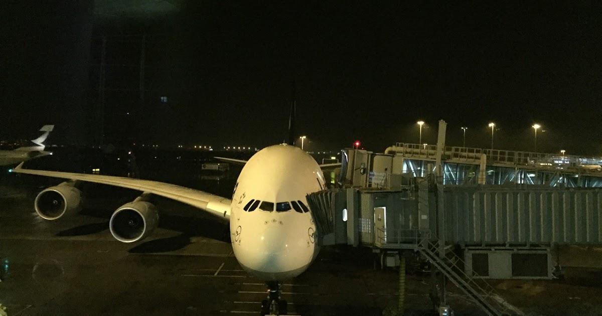 浮世志: 〔飛行報告〕漢莎航空 LH797 香港往法蘭克福 A380