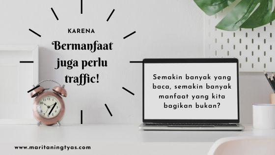 belajar SEO bermanfaat untuk traffic blog