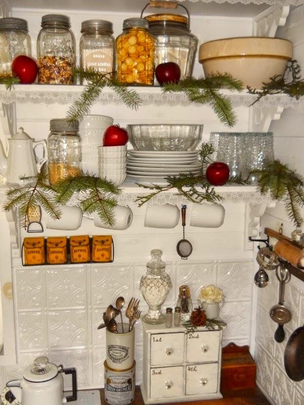 Fence Picket Kitchen Cabinet