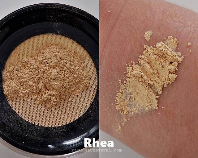 Swatch Looke Loose Powder Shades Rhea Natural beige