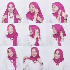 Tutorial Hijab Segi Empat Sederhana Paling Up Date